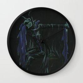 Maleficent's Lament Wall Clock