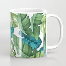 Tropical leaves II Coffee Mug