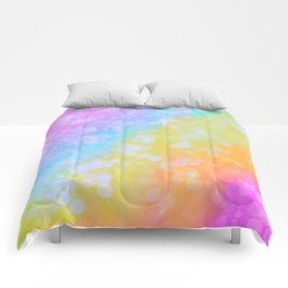 Rainbow Bubble Pop Comforters