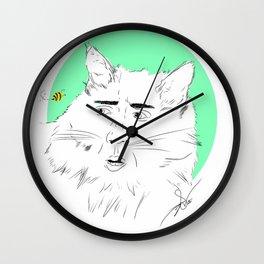 the bee Wall Clock