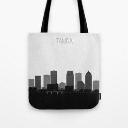 City Skylines: Tampa Tote Bag