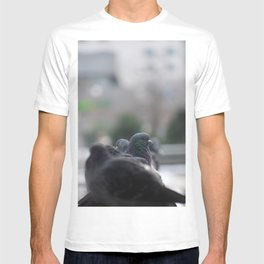The Pigeon that dared to look back T-shirt
