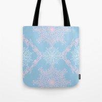 bubblegum Tote Bags featuring Bubblegum by Samera Tseng