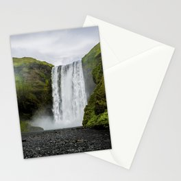 Skogafoss Waterfall Iceland Stationery Cards