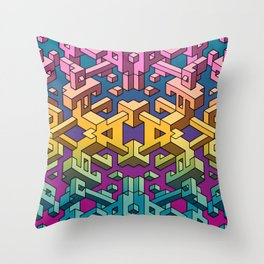 Square Necessities Throw Pillow