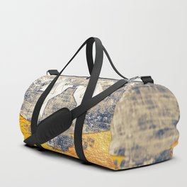 Pair of paper pigeons Duffle Bag