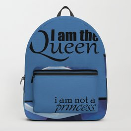 Princess and Queen succulents Backpack