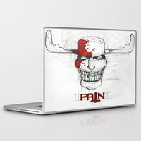 "pain Laptop & iPad Skins featuring ""Pain"" by Pastuv"