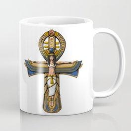 Egyptian Ankh Cross Coffee Mug