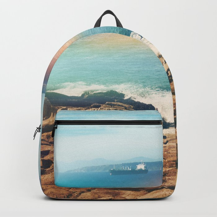 Colours of the sea Backpack