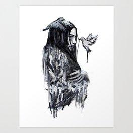 Empty soul Art Print