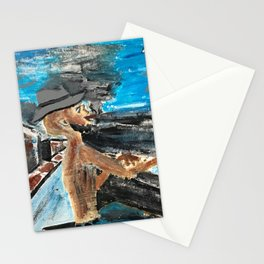 The Weary Blues - City Lights Project Stationery Cards