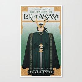 The Tragedy of Loki of Asgard Canvas Print