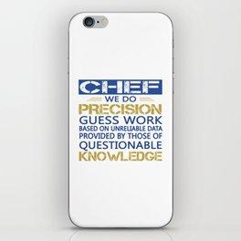 CHEF iPhone Skin