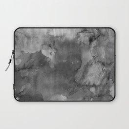Black watercolor Laptop Sleeve