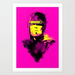 VHS-MAN Art Print