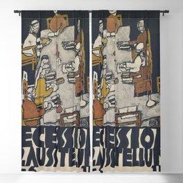 Egon Schiele - Secession 49. Exhibition Blackout Curtain