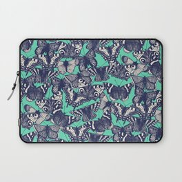 butterfly mint Laptop Sleeve