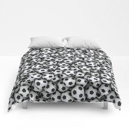 Soccer balls Comforters
