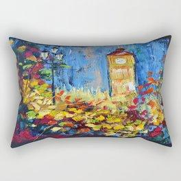 Autumn in London Rectangular Pillow