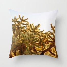 Cholla #1 Throw Pillow