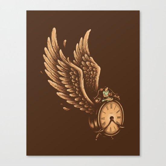 Time Flies Canvas Print