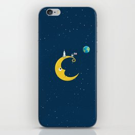Man on the Moon iPhone Skin