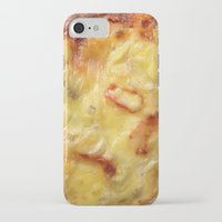 pizza iPhone & iPod Cases featuring Pizza by Fine2art