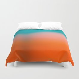 Red Water Duvet Cover