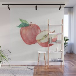Apple and a Half Wall Mural