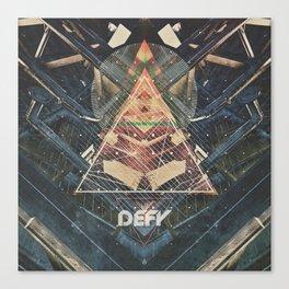 DEFY ∆ V01 Canvas Print