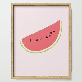 Stay Cool Watermelon Serving Tray