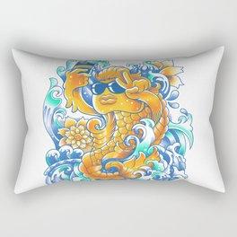 Selfie-ish Fishtail-ish Rectangular Pillow