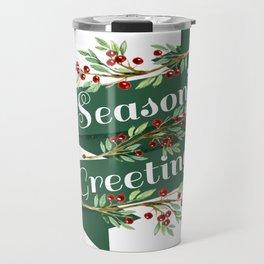 Season's Greetings Travel Mug