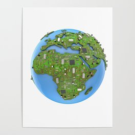 Data Earth Poster