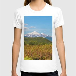 Fall and volcanoes T-shirt