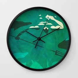 Ponce of Tides Wall Clock