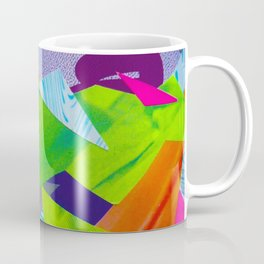 Tumbling Neon Coffee Mug