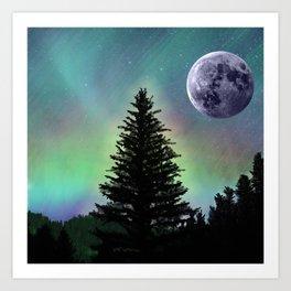 Northern Aurora Art Print