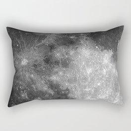 Black & White Moon Rectangular Pillow