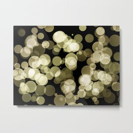 Bokeh Background Metal Print