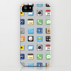 Phone Apps iPhone (5, 5s) Slim Case