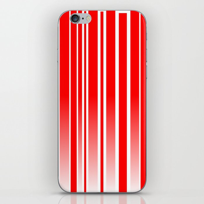 Red Track iPhone Skin