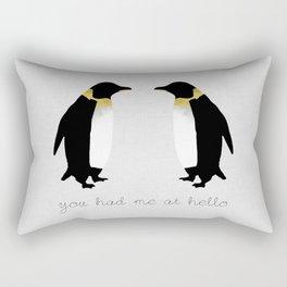 You Had Me At Hello Rectangular Pillow