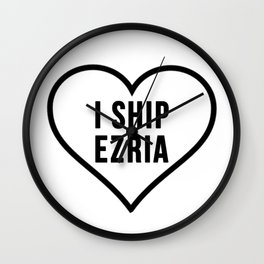 EZRIA Wall Clock