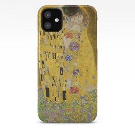 The Kiss by Gustav Klimt iPhone Case