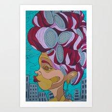 West Indian Women Be Like Art Print
