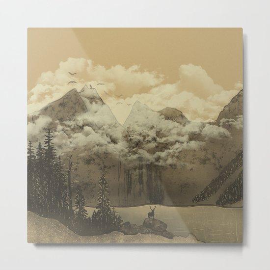 The Mountain Lake Metal Print