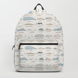 The Moody Animals (Colours) Backpack