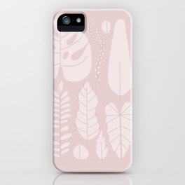 leaf collection iPhone Case